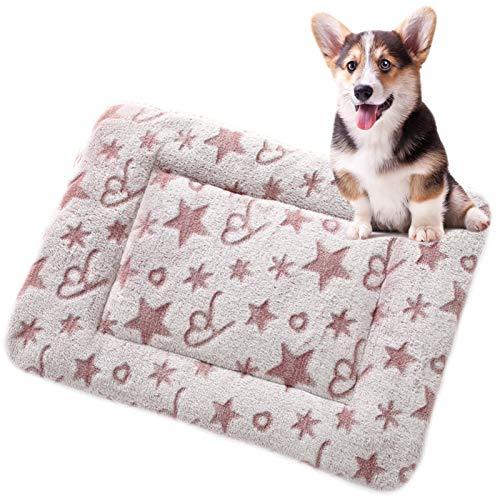 JOOFFF Colchón Perro Lavable,Colchón Perro Antideslizante,Suave Colchoneta Mascota Cama Perros Perros Grandes Medianos Qequeños-C M