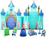 JOY STORIES Battery Operated Castle Doll House for Girls | Pretend Play Princess Beauty Castle with Dolls, Furniture, Accessories, Light & Music (My Dream House Set)