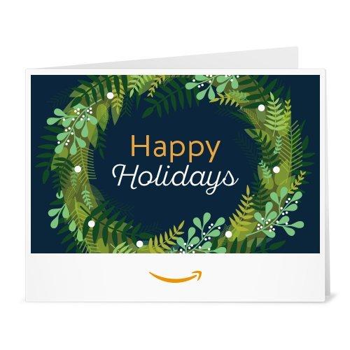 Amazon Gift Card - Print - Holiday Wreath