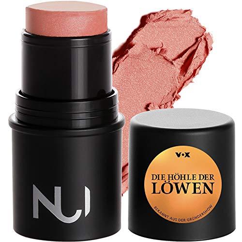 NUI Cosmetics Natural Cream Blush KARAMERE - Naturkosmetik vegan natürlich glutenfrei - pflegendes Rouge in einem warmen Pfirsichton für Wangen, Augen und Lippen