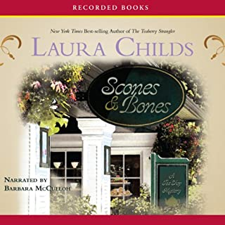 Scones & Bones     A Tea Shop Mystery              By:                                                                                                                                 Laura Childs                               Narrated by:                                                                                                                                 Barbara McCulloh                      Length: 9 hrs and 35 mins     Not rated yet     Overall 0.0