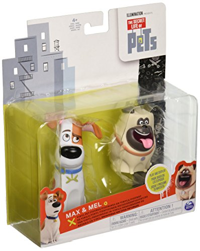 The Secret Life of Pets Movie Max and Mel Figures