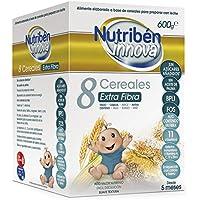 Nutribén Papillas Innova 8 Cereales Extrafibra, Desde Los 5 Meses, 600 Gr.