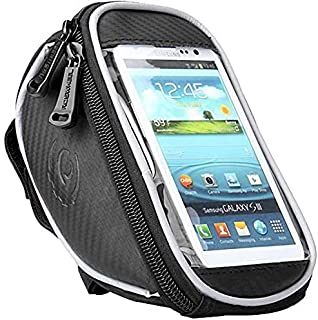 Roswheel Cycling Bicycle Bike Handlebar/Frame Front Tube Bag For Touch Screen Samsung HTC iphone
