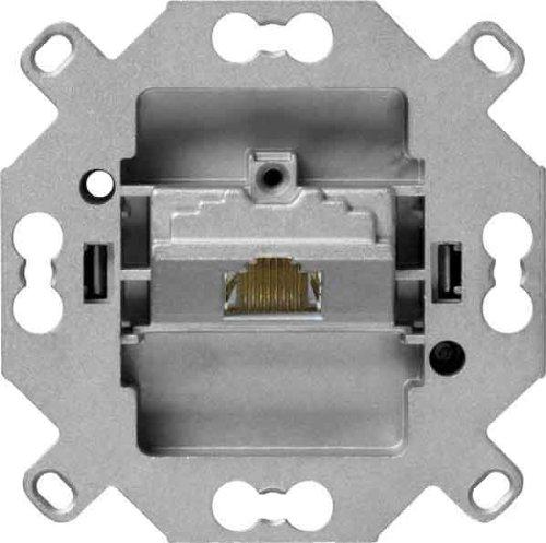 Hager UAE-Dose Kat6.a WUV61 500 MHz, 1f,8-pol Kommunikationsanschlussdose Kupfer 3250617020886