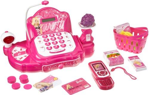 Lexibook RPB550Z - Barbie Fashion, elektronische Registrierkasse