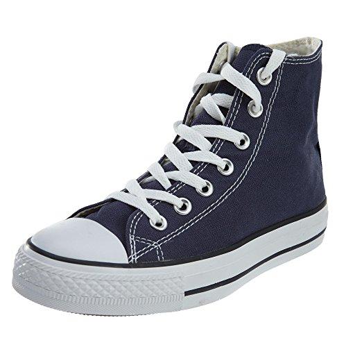 Converse Chuck Taylor All Star, Unisex-Erwachsene Hohe Sneakers, Blau (Navy Blue), 41 EU