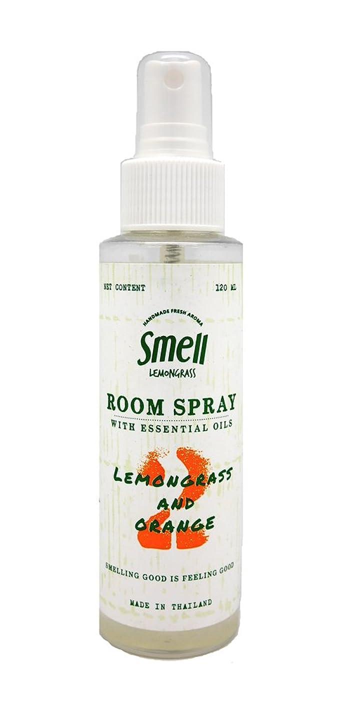 運動する取り組む新年(スメル レモングラス)Smell Lemongrass ルーム スプレー 120ml (レモングラス & オレンジ)