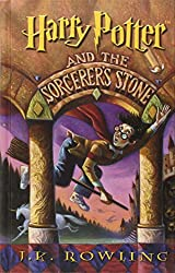 Harry Potter and the Sorcerer's Stone book cover and link to Amazon page