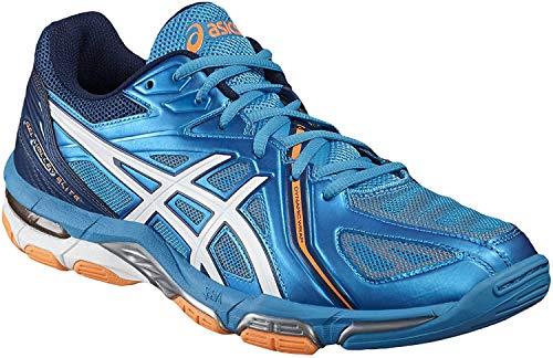 ASICS Unisex-Erwachsene Gel-Volley Elite 3 B500N-4301 Cross-Trainer, Mehrfarbig (Multicolour #0000001), 40.5 EU