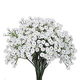 XHXSTORE 4 Pezzi Gypsophila Artificiale Fiori Finti Decorativi Bouquet di Gipsofila Artifi...