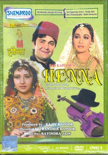 Henna DVD Bollywood Cinema Brand New Multi Region