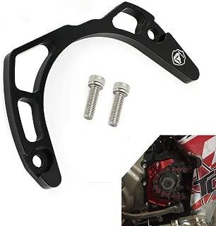 Alpha Rider Motorcycle CNC Aluminum Case Saver Sprocket Guard Engine Case Protector For Yamaha Raptor 700 2006-2017 YFM700R 2009-2017 Black