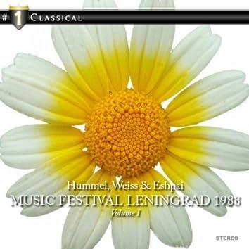 Music Festival Leningrad 1988, Vol. 1