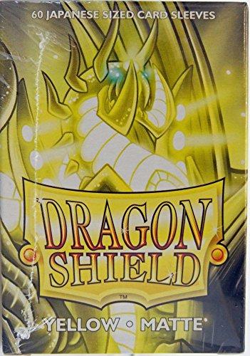 Arcane Tinman Mangas: Dragon Shield Matte Amarelo Japonês (60)