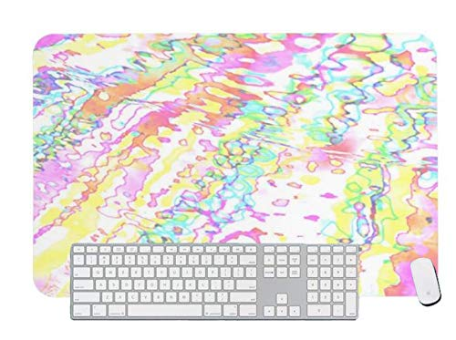 Alfombrilla de ratón para juegos, diseño de copo de nieve mágica para computadora y portátil, 1 paquete de 1000 x 500 x 3 mm