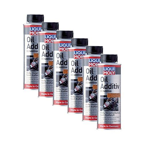 Price comparison product image 6x Additional Liqui Moly 1012 Oil Additive Oil MoS2 Protective Wear Oil Additive 200