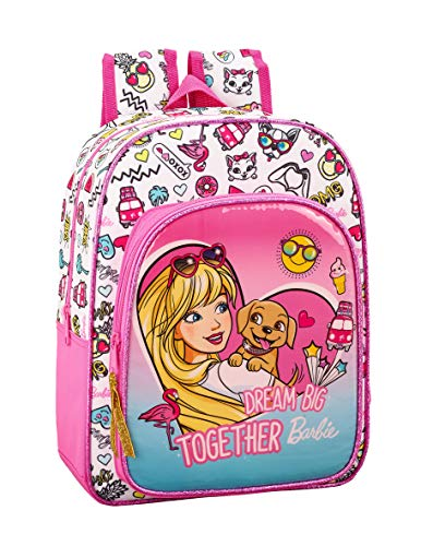 Barbie Celebration Oficial Mochila Escolar Infantil Animada 260x110x340mm