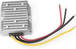 Weikeya Convertidor DC-DC, módulo convertidor 20a regulador de Voltaje convertidor de Potencia con aleación de Aluminio