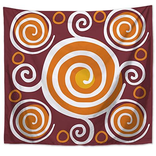 ZSYNB Mandala Boho Tapestry Love Hippie Stretch bedrukt wandbehang decoratie voor thuis sjaal plafond No frame 150 X 150cm