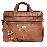 Veneer Mens Messenger Bag 15.6 Inch Waterproof Synthetic Leather Briefcase Large Satchel Shoulder Bag Computer Laptop Bag