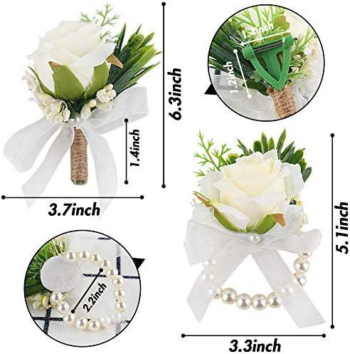 Prom flower bracelet _image3