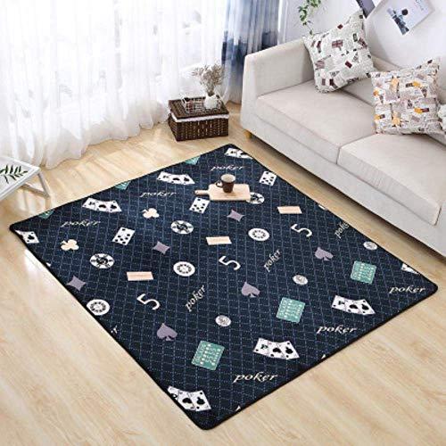 SKYEI Chambre épaisée Tapis de Chevet Salon Table Basse Tapis adapté aux couvertures Douces, 6,50 x80cm