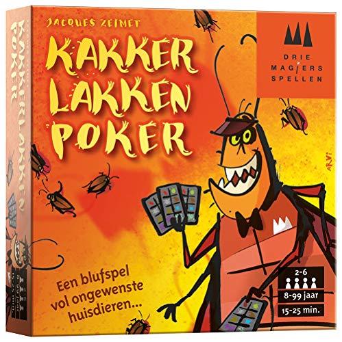 Drie Magiers Spellen 999-Kls03 Kakkerlakkenpoker Kaartspel Kaartspel, Multikleur