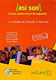 ¡Así son! Curso audiovisual + DVD (A2-B1): Asi son! Curso audiovisual de espanol. Libro + DVD (A2-B1)