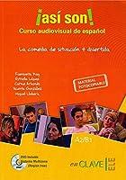 Asi son!: Asi son! Curso audiovisual de espanol. Libro + DVD (A2-B1)