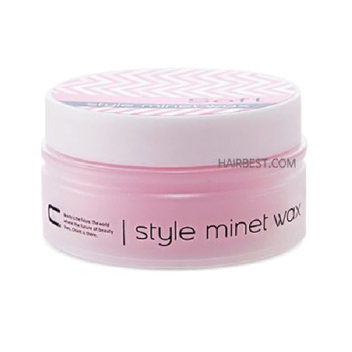 Avenue Chiett Style Minet Hair Wax 100ml 3.3 oz Soft Serum Type Creamy Texture Mositurizing for Men Styling