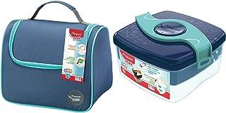 Maped Picnik Origins - Lunch bag Sac à Déjeuner Isotherme pour Enfants - Bleu & Picnik Origins - Boîte à Déjeuner Repas En...