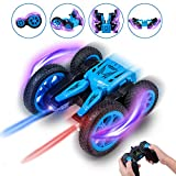 Tuptoel RC Cars Stunt Car Toy, 2.4Ghz Remote Control Car Double Sided Spinning 360° Flips, Kids Toy RC Cars for Boys/Girls/Adults, Birthday Gift for Kids (Blue)