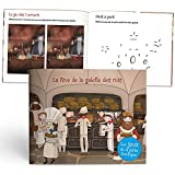 Les enfants ROY – La Fève de la galeta de los Reyes – Cuaderno de juegos – Idea regalo – 4 a 7 años – Tapa flexible – 17 x 20 cm – 12 páginas – Fabricado en Francia