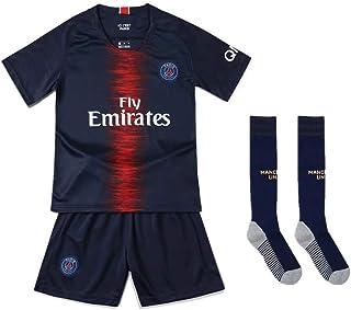a7cc64d9 Camisetas de Fan New Season Paris Saint-Germain Juego de fútbol para niños  Sudor Dry