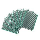 Busirsiz 36pcs de Doble Cara Placa PCB Prototipo Kit 5 Tamaños Universal de Circuito Impreso Placa protoboard for DIY de Soldadura Proyectos electrónicos del Punto Steuermodul