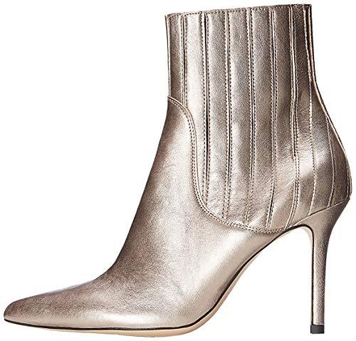 find. Botines de Tacón para Mujer, Plateado (Silver), 37 EU
