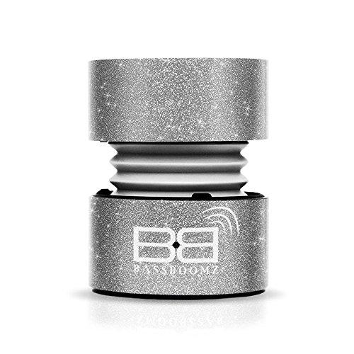 Tragbarer Bluetooth-Lautsprecher–Glitzer Silber