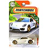 Matchbox Mattel Basic Die-Cast MBX Road Trip - Porsche Cayman (White)