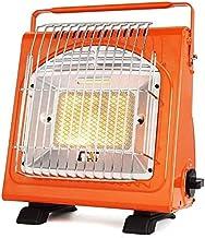 GLYYR Calefactor eléctrico Calentador de Patio portátil Radiador de calefacción multifunción Estufa de Camping portátil para Camping/Interior/Exterior 1700W Naranja