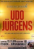 Udo Jürgens - Essen 2009 Konzert-Poster A1 (1)