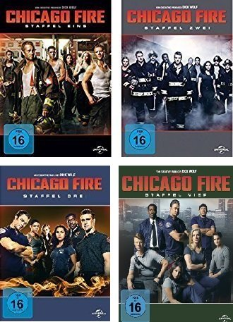 Chicago Fire - Staffel 1-4 (24 DVDs)