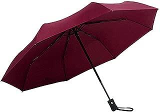 Full Automatic Portable Folding Umbrella Women Men Windproof UV Protection Umbrella Ultra Comfort Handle