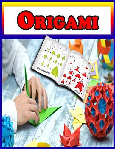 ORIGAMI: 25 vollfarbige 3D-Faltmodelle für Kinder | 3d-Tiere Origami| ideal als Geschenk Faltmodelle für Kinder