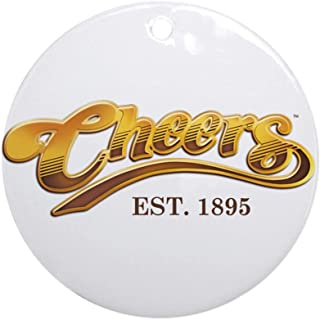 CafePress Cheers Est. 1895 Ornament (Round) Round Holiday Christmas Ornament
