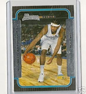 2003 Bowman Carmelo Anthony Rookie Card