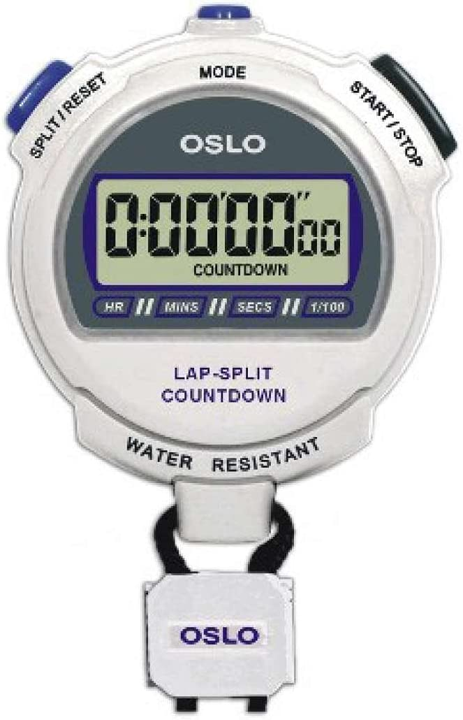 Robic Oslo Silver 2.0 Stopwatch and Countdown Timer