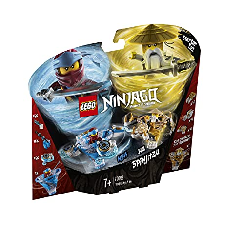 LEGO 70663 Ninjago Spinjitzu NYA & Wu (Vom Hersteller Nicht mehr verkauft)