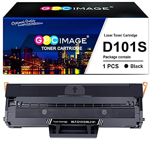 GPC Image Compatibili Cartuccia di Toner Sostituzione per Samsung MLT-D101S per ML-2160 ML-2165 ML-2168 SCX-3400 SCX-3405 SCX-3405FW SCX-3405F SCX-3405W ML-2161 ML-2162 ML-2168W SF-760P (Nero, 1-Pack)
