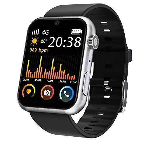 LRHD Smart Watch GPS Android 7.1 iOS 1.8 pulgadas 320 * 385 Exhibición grande 3GB + 32GB WiFi 800mAh batería 5,0MP Cámara SmartWatch Teléfono SmartWatch Compatible con iOS, Android para hombres, mujer